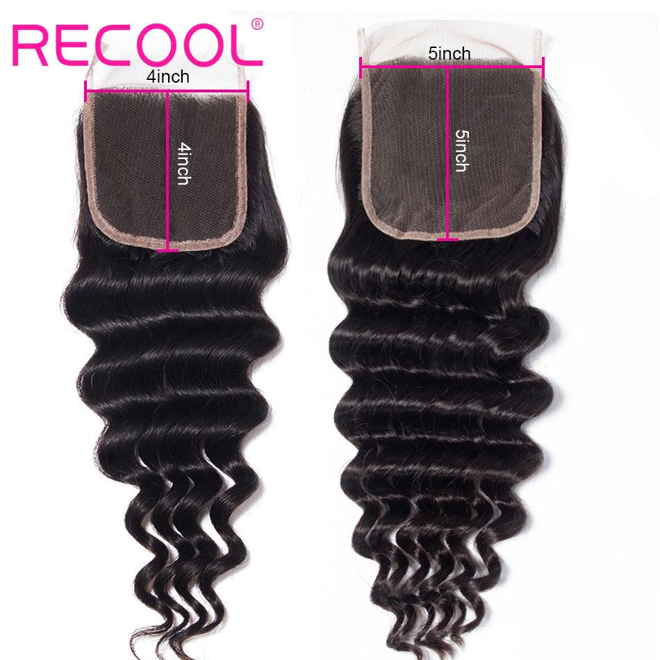 loose deep wave human hair 5x5 Lace Closure