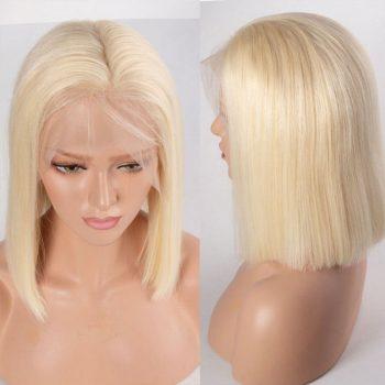 613 blonde straight bob wig