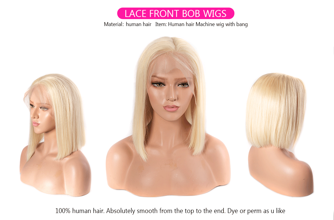 613 bob lace front wig 1