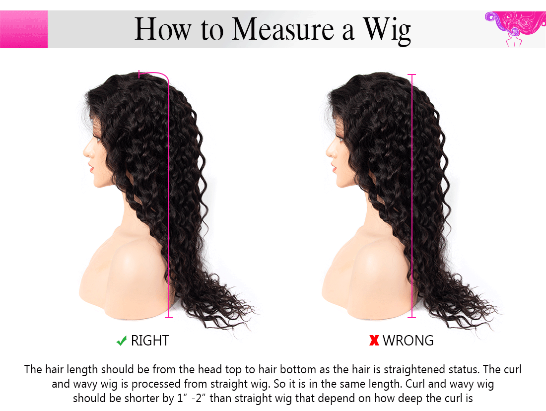 how to measure a wig