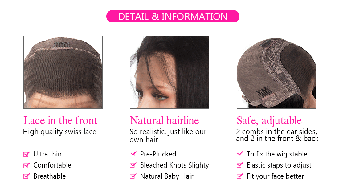 lace front information
