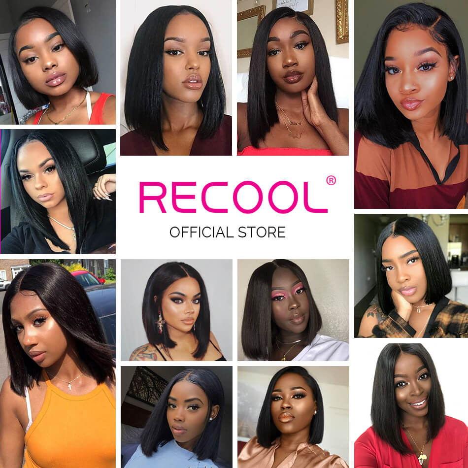 recool hair bob wig show