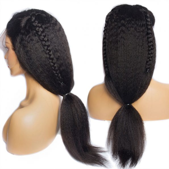 360 kinky staight wig 4