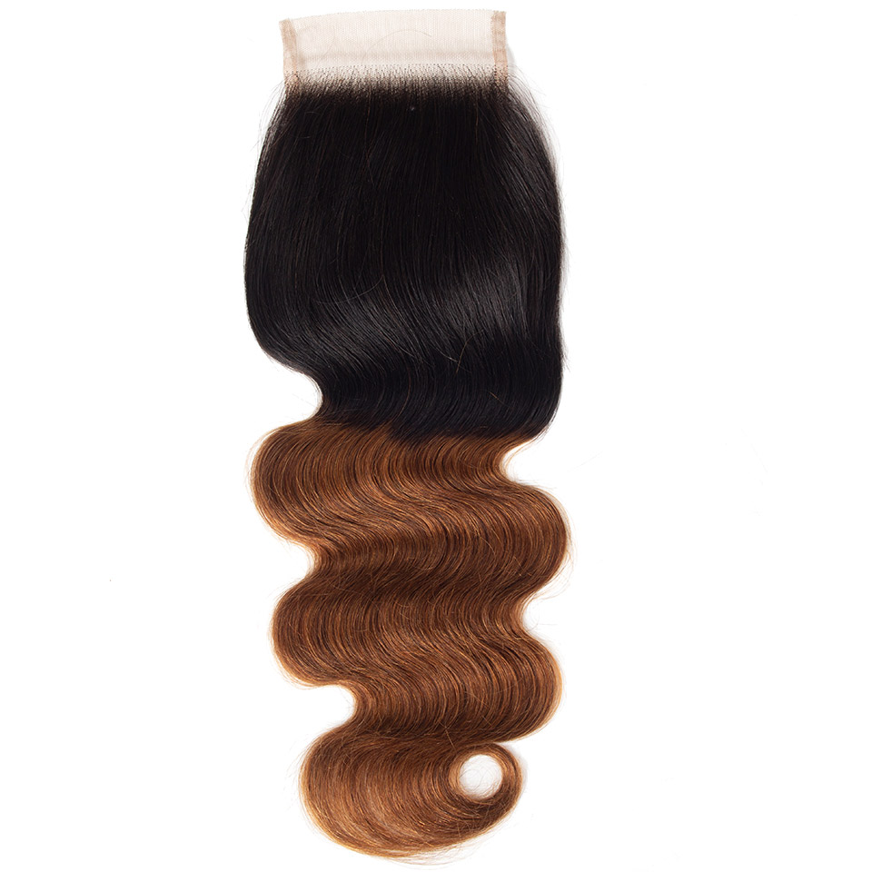 1B 30 body wave lace closure 1