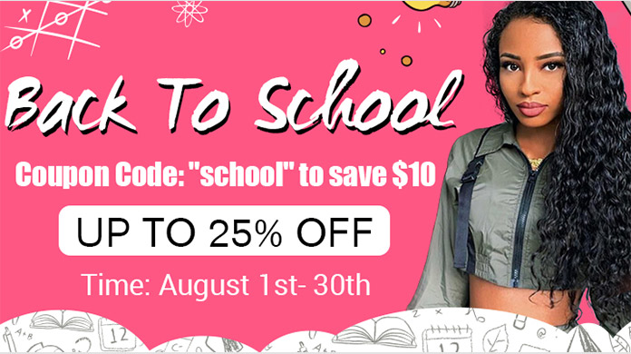 recool hair back to school sale 2019