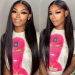 straight HD 13×4 lace front wig (1)