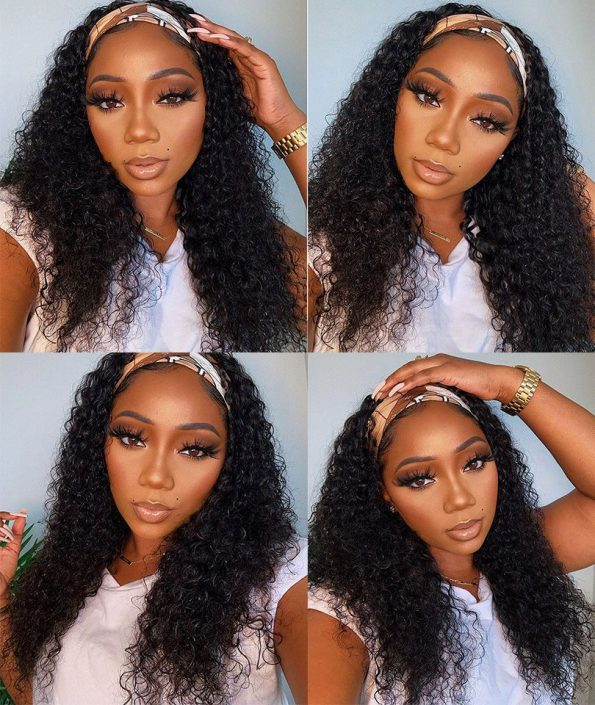 kinky curly headband wig (4)