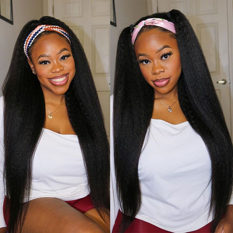 kinky straight headband wig (4)