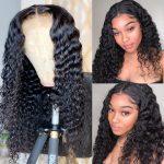 deep wave HD lace closure wig (1)