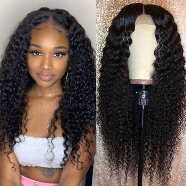 deep wave HD lace closure wig (3)
