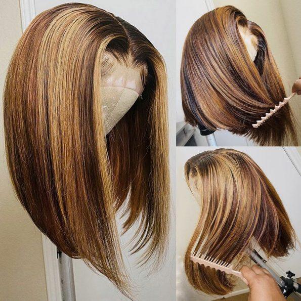 Mix color bob wig (1)