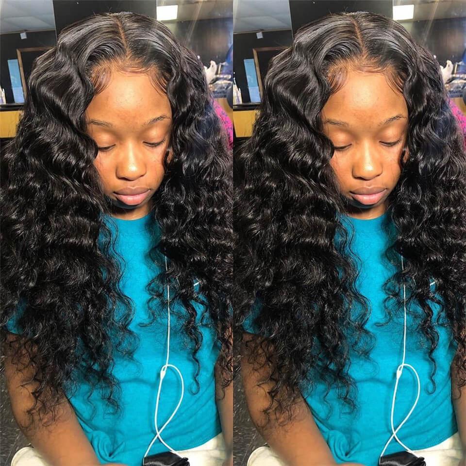 loose deep 5×5 HD lace wig
